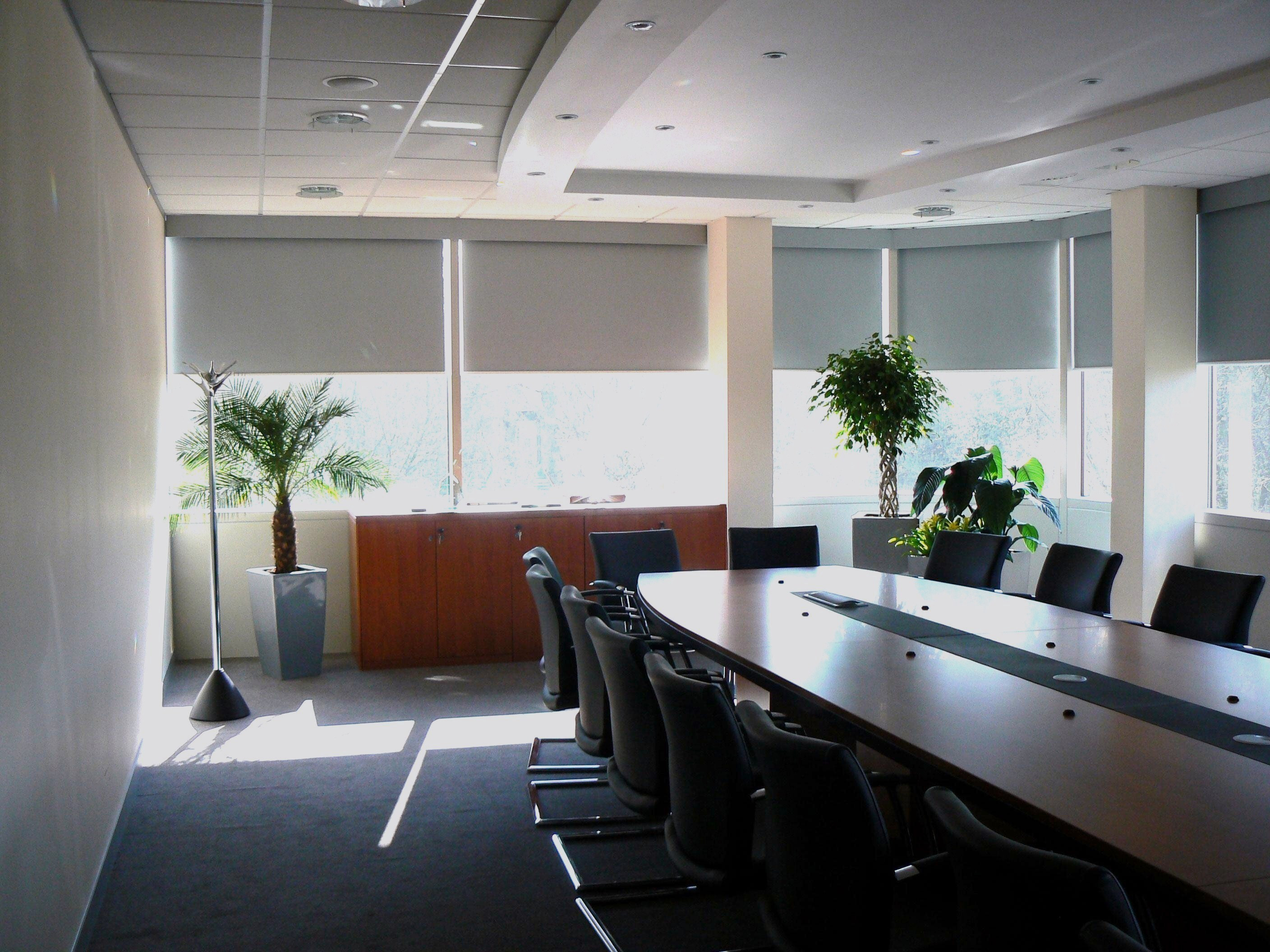Roller Blinds to Control Solar Glare and Light Transmission