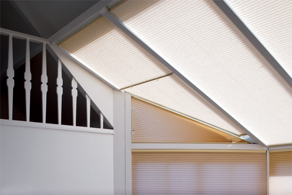 Pleated Blinds Free Hanging Style for Vertical Windows