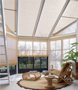 Pleated Blinds for Roof Windows