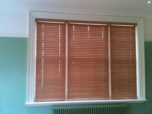 Wooden Venetian Blinds with a Myriad of Colors