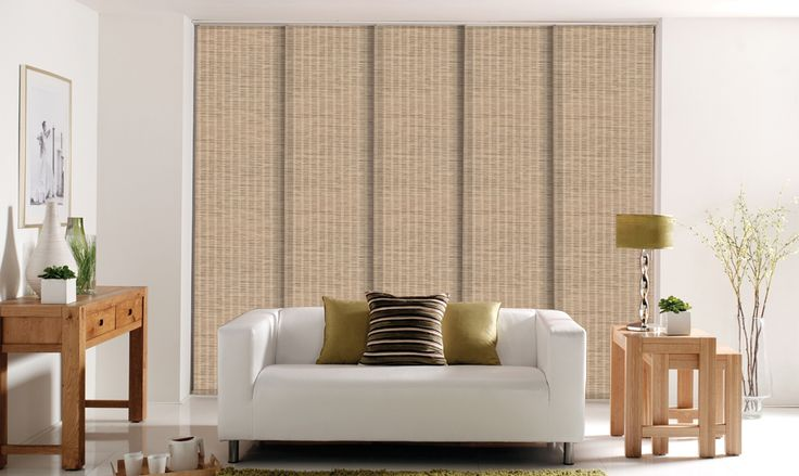 Panel Blinds London For The Larger Windows And Patio Doors